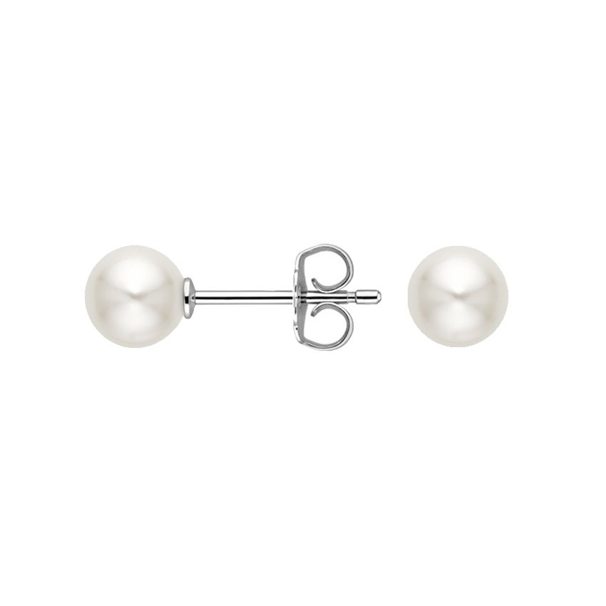 pearl cherry of earrings reversible stud collection b mother product bay oyster