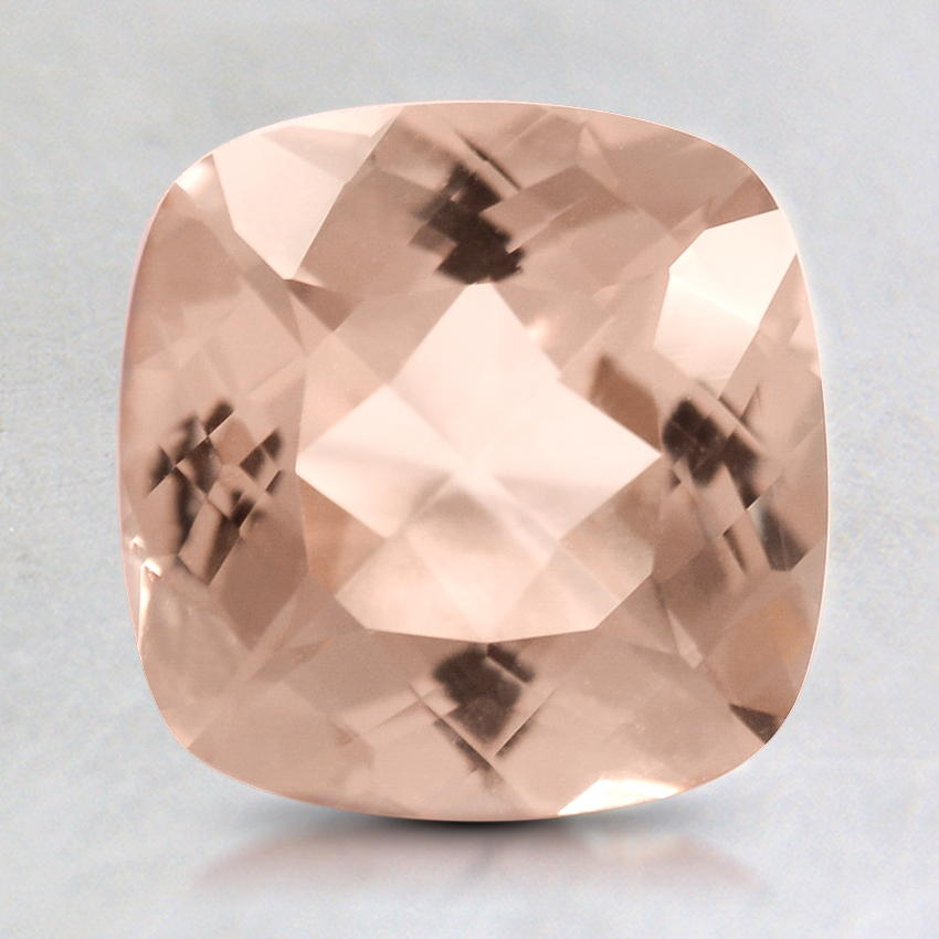 7.5mm Peach Cushion Morganite