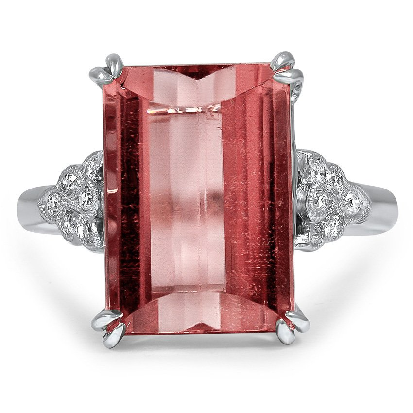 Art Deco Tourmaline Cocktail Ring