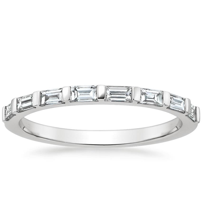 BarSet Baguette Diamond Ring Barre Brilliant Earth