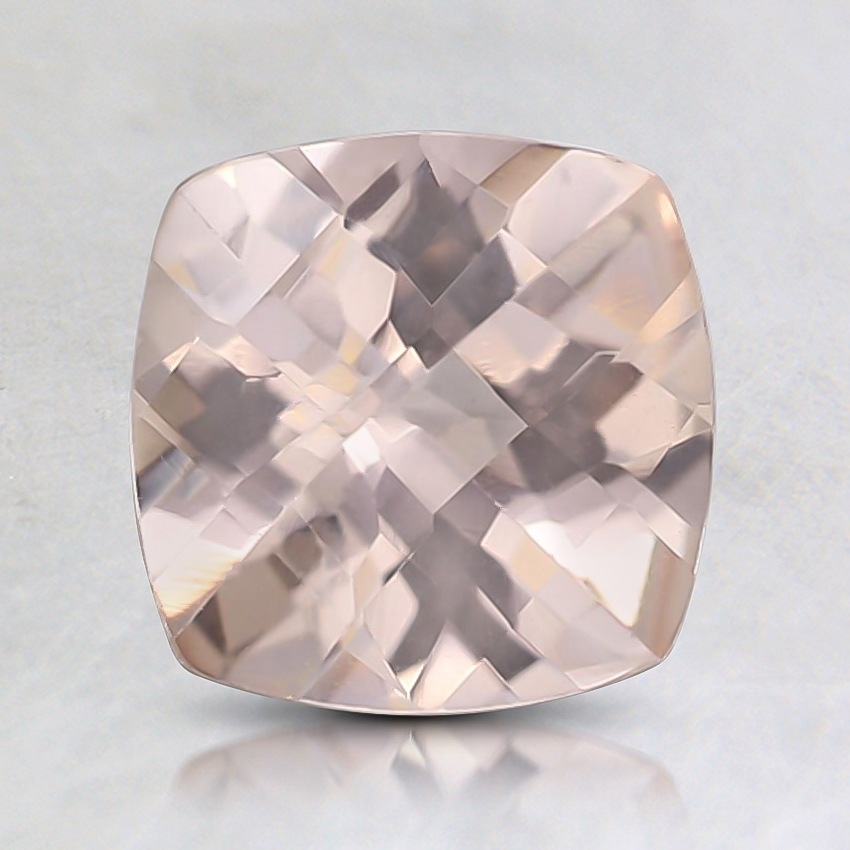 7mm Peach Cushion Morganite