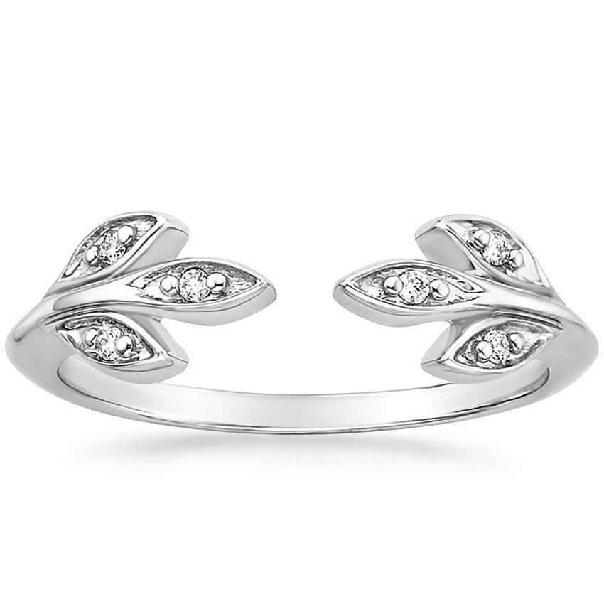 Open Ring With Diamonds Juniper Brilliant Earth