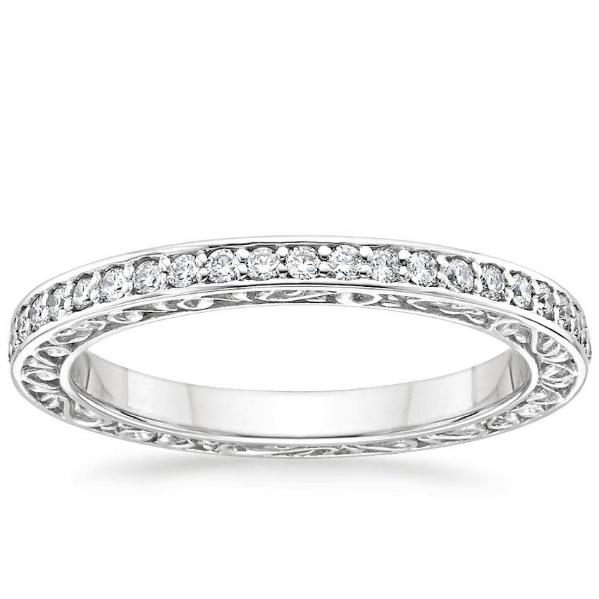 Engraved Eternity Ring