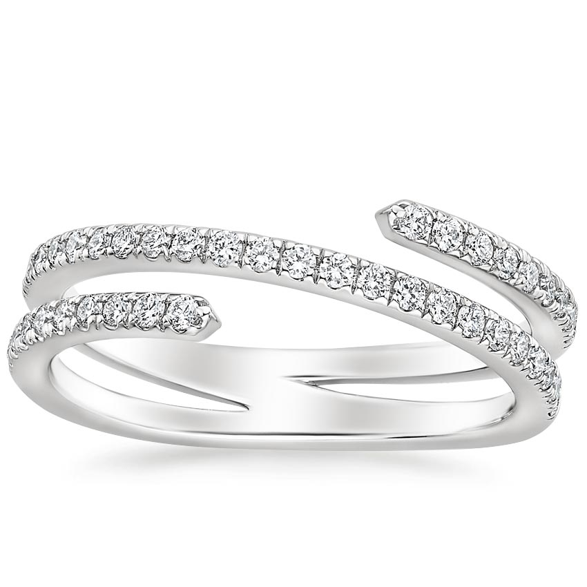 Helix Diamond Ring (1/3 ct. tw.) in Platinum