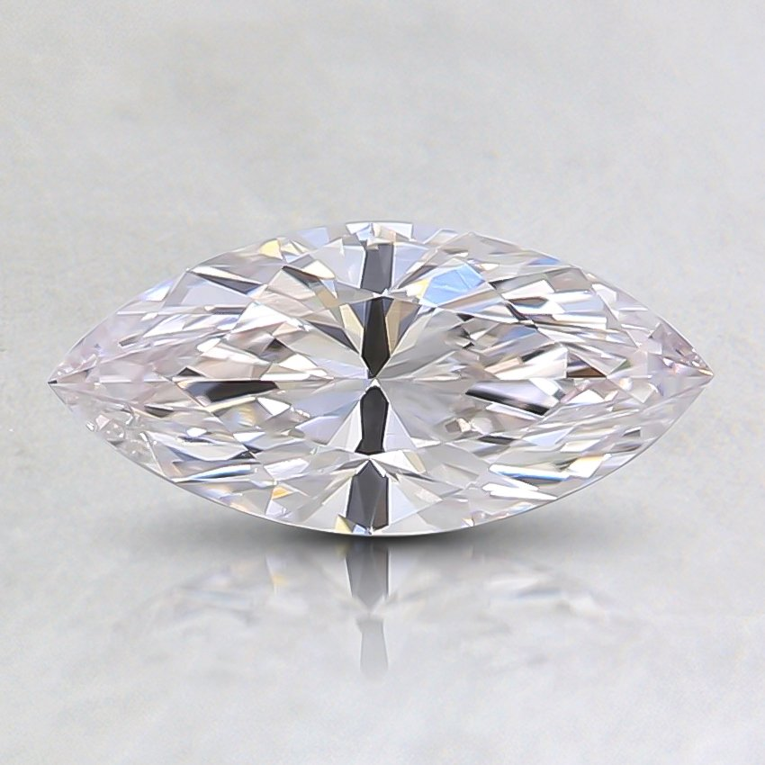 0.53 Ct. Fancy Faint Pink Marquise Diamond