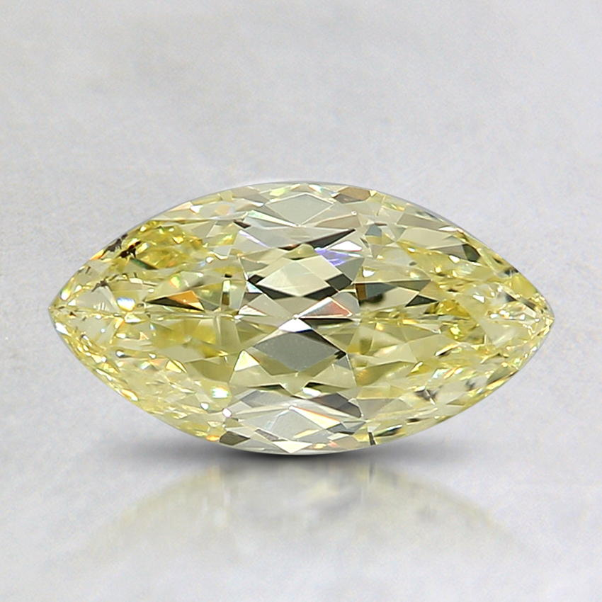 1.02 Ct. Fancy Yellow Marquise Diamond