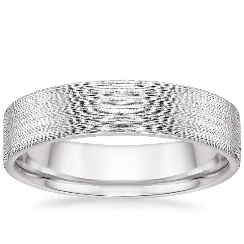 5mm Mojave Textured Matte Wedding Ring