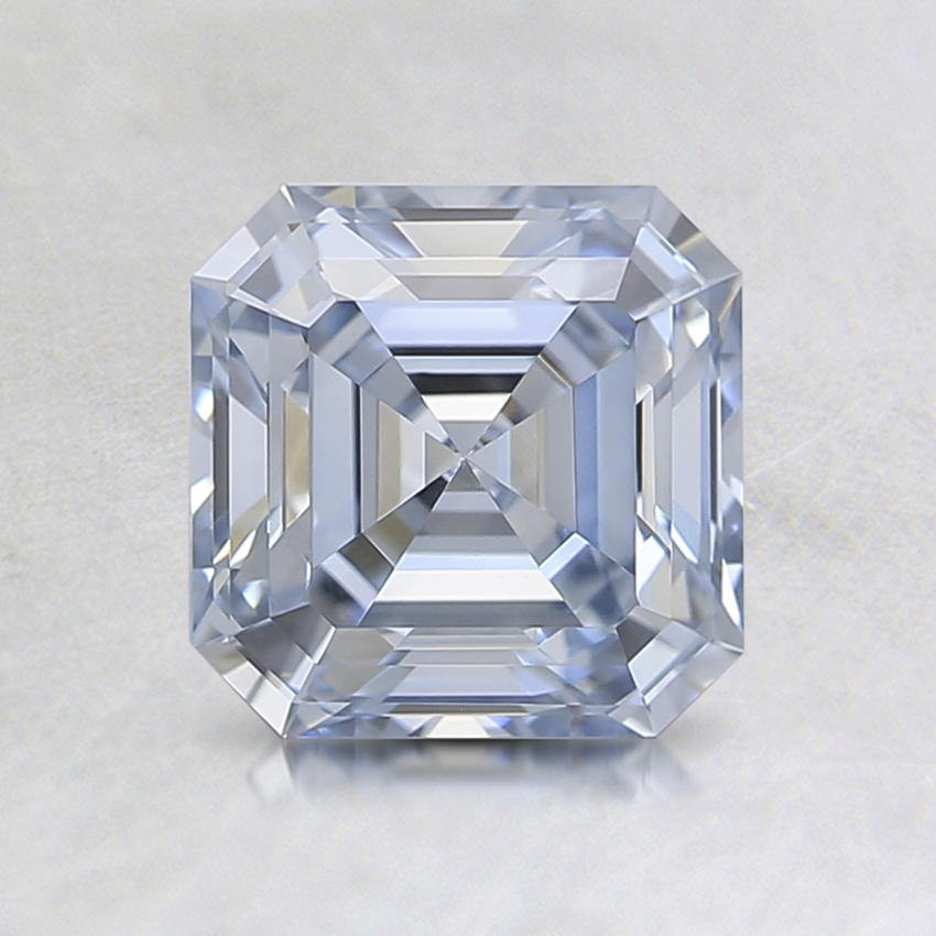1.12 Ct. Fancy Blue Asscher Lab Created Diamond