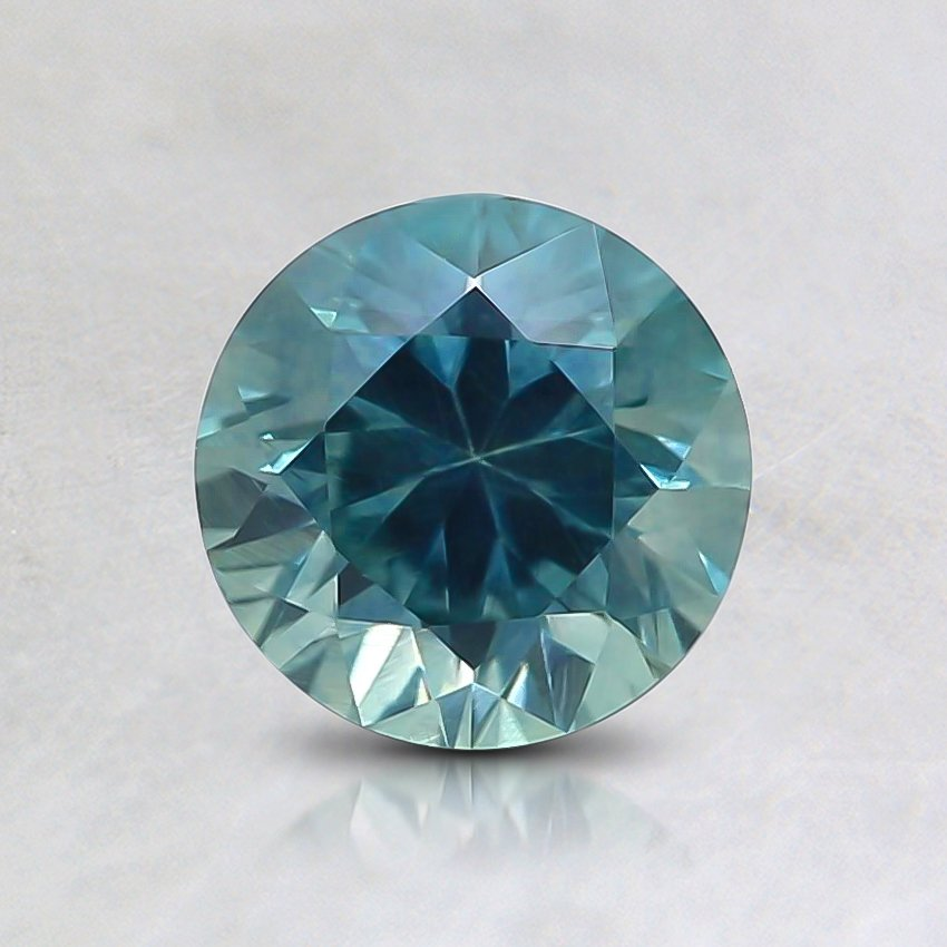 6mm Montana Teal Round Sapphire
