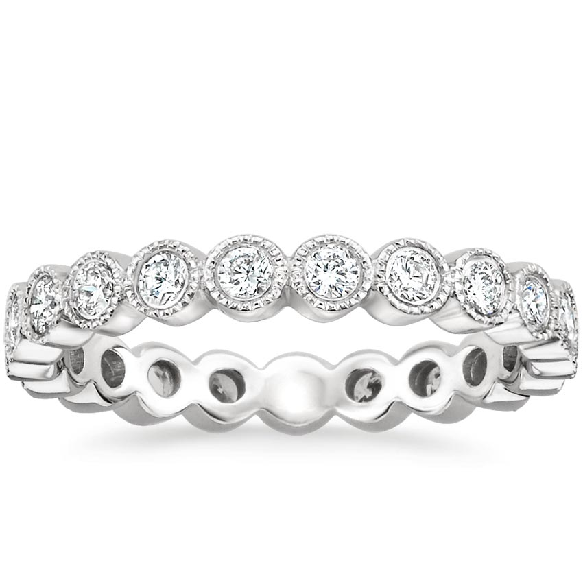 Luxe Bezel Eternity Diamond Ring