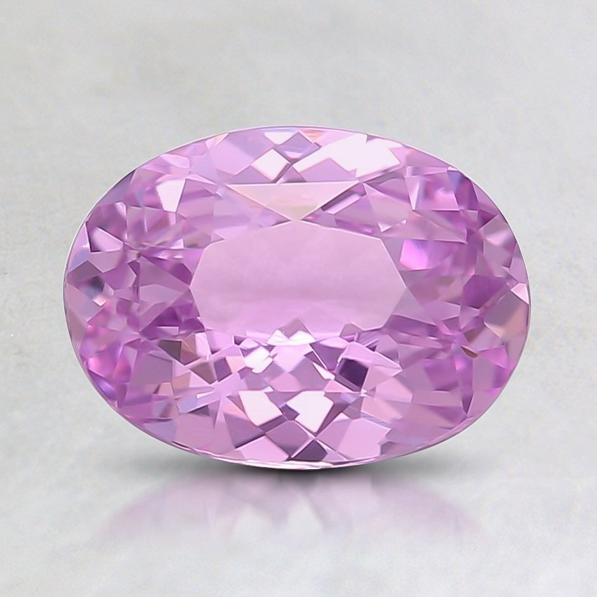 8x5.9mm Unheated Pink Oval Sapphire
