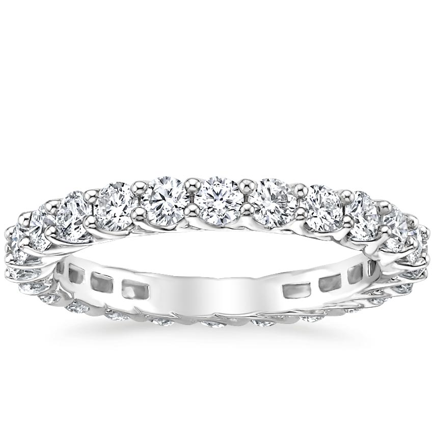 Signature Luxe Devota Eternity Diamond Ring (1 1/3 ct. tw.) in Platinum