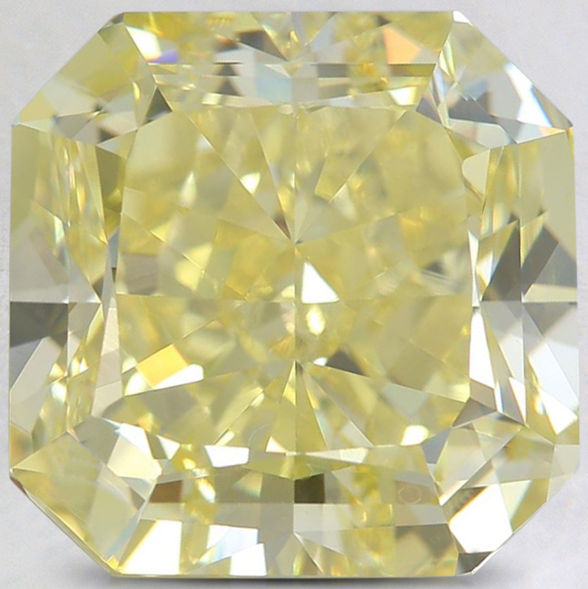 9.07 Ct. Fancy Intense Yellow Radiant Diamond
