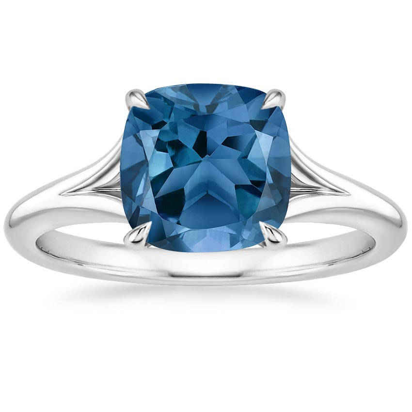 diamond and engagement gold ring topaz white image blue product rings halo