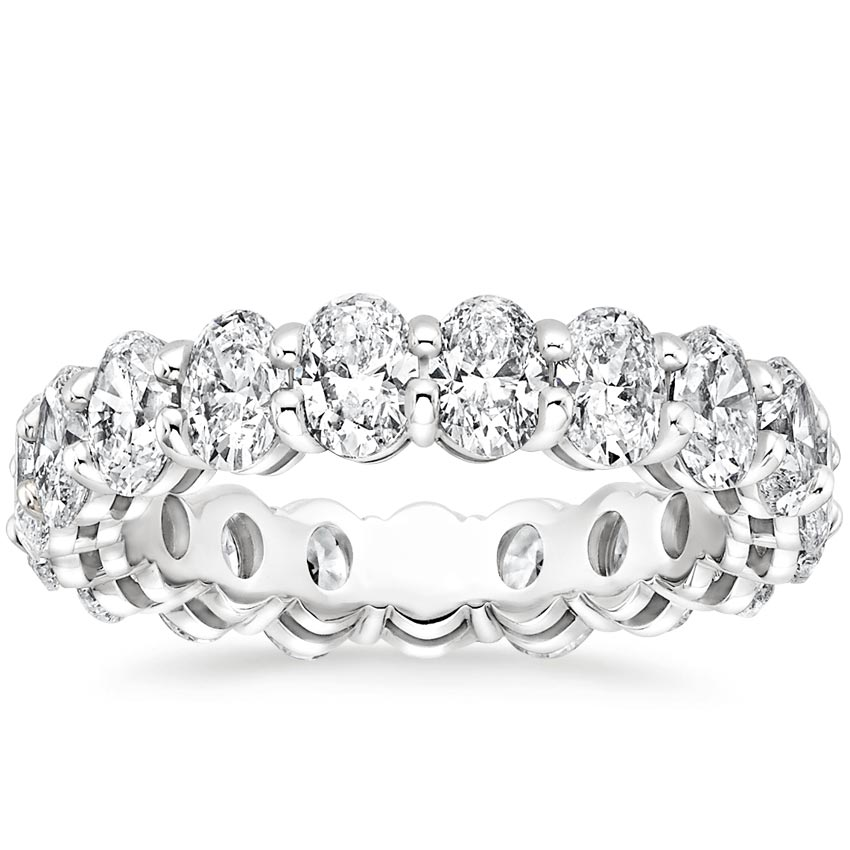 Oval Eternity Diamond Ring (4 ct. tw.)