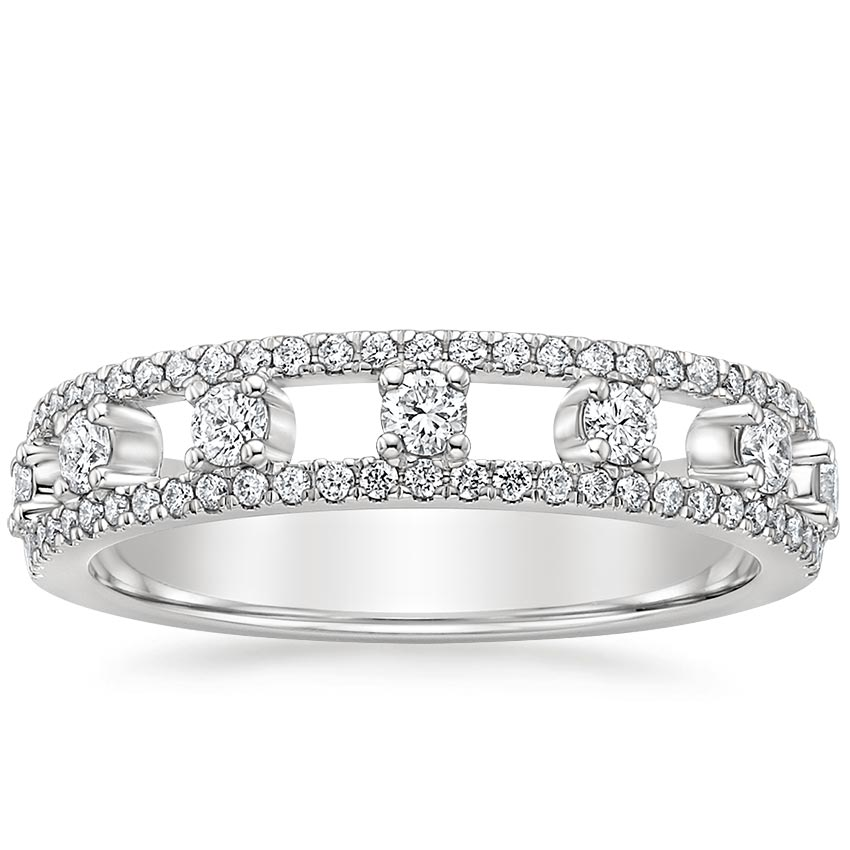Portico Diamond Ring in Platinum