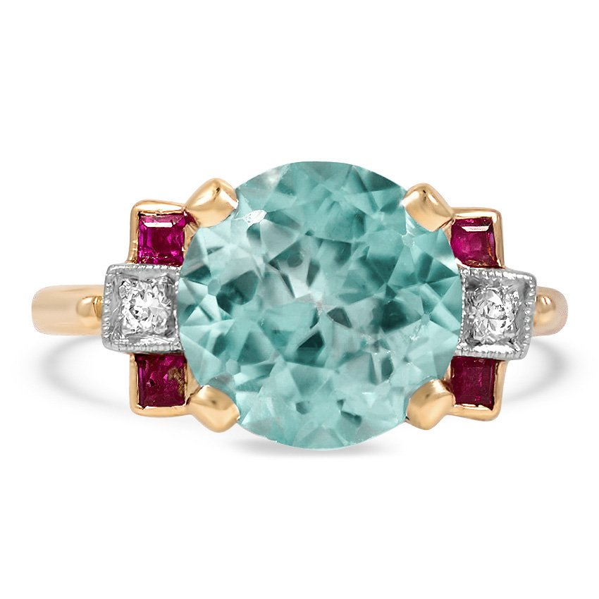 The Lucienne Ring, top view