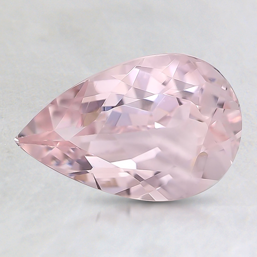9x6mm Premium Pink Pear Morganite