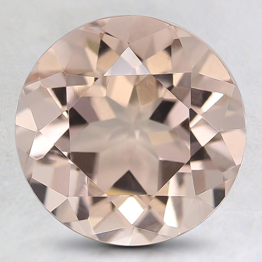 9mm Peach Round Morganite