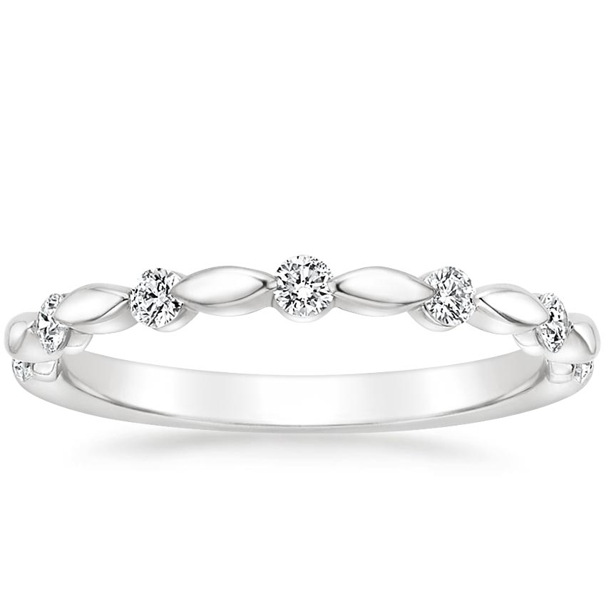 Isla Diamond Ring in Platinum