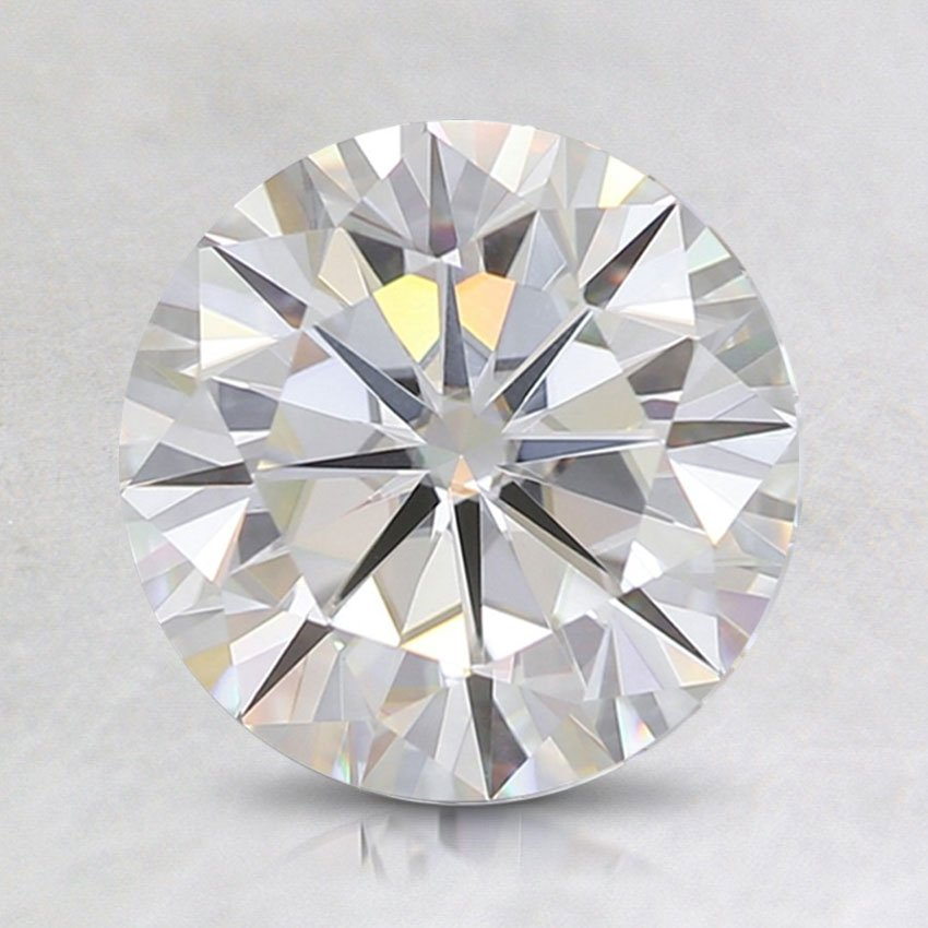 7.5mm Premium Round Moissanite