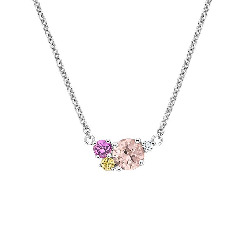Cluster pendant necklace