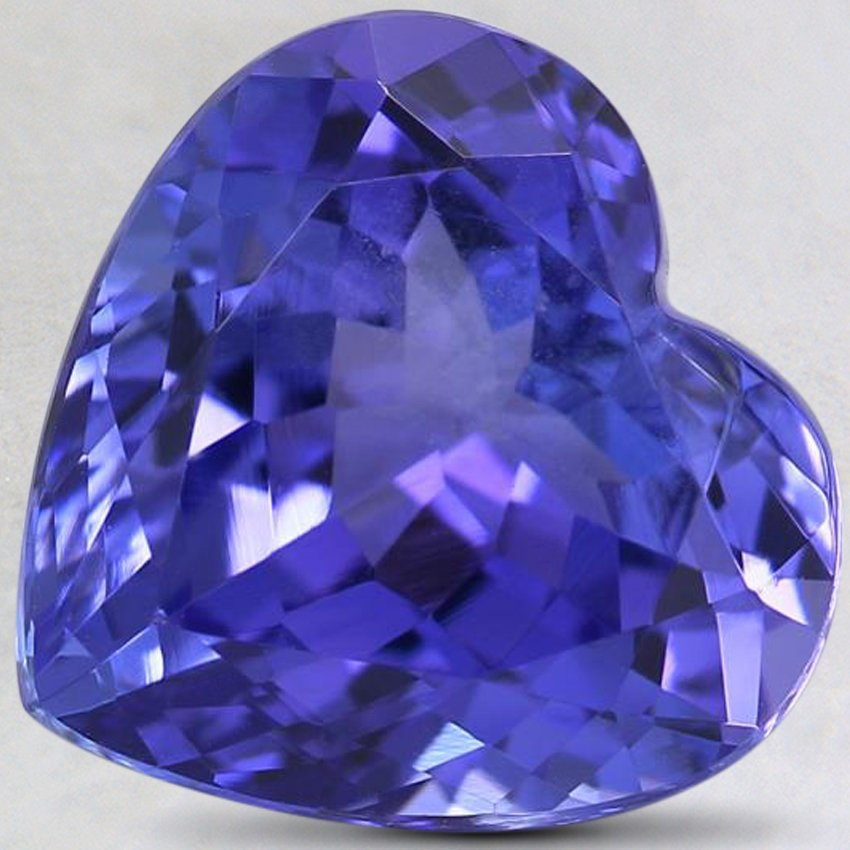 10.5x11mm Premium Purple Heart Tanzanite