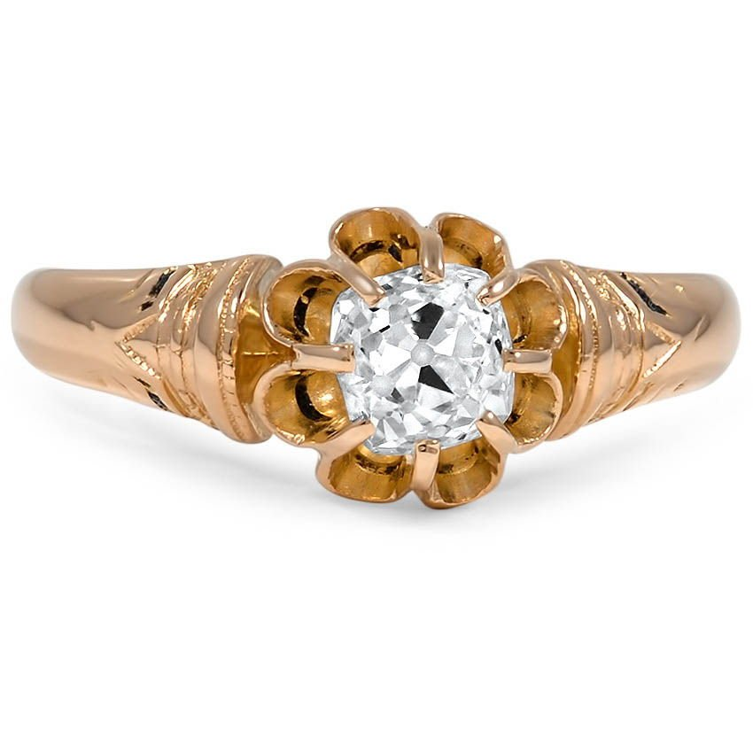 The Janita Ring, top view