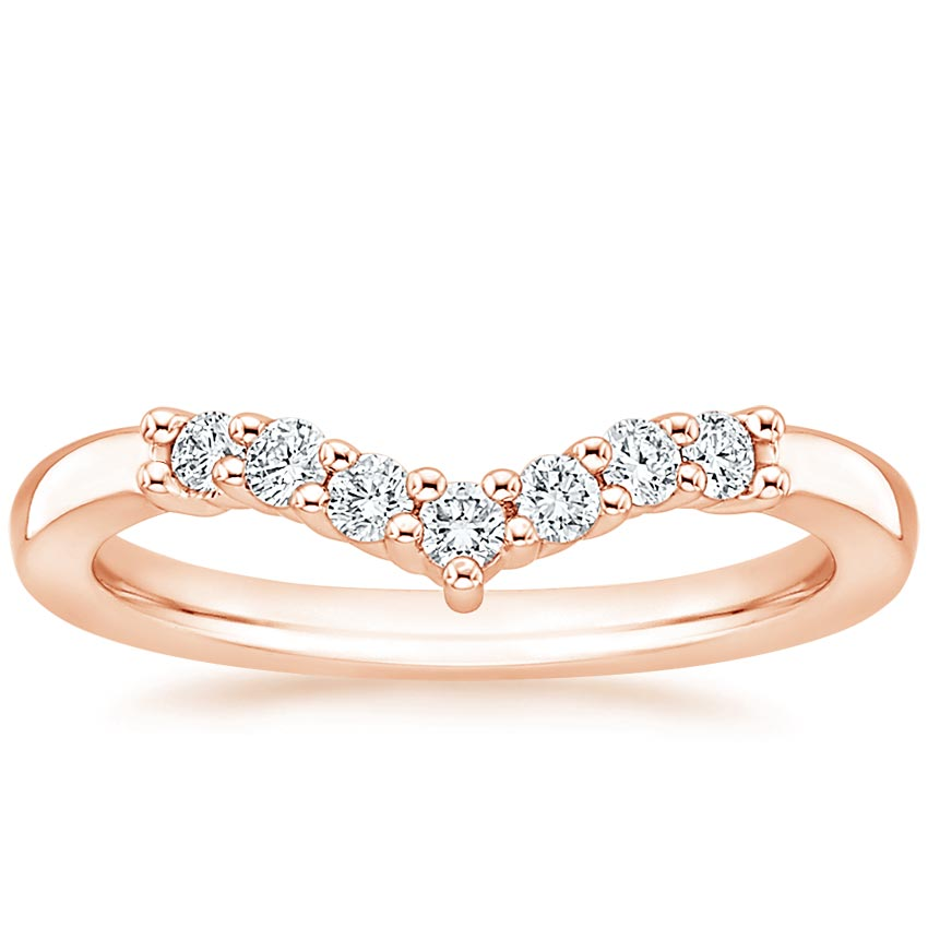 Rose Gold Verona Diamond Ring