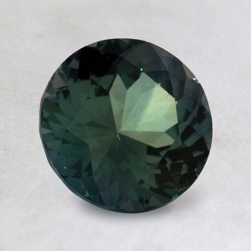 7mm Teal Round Sapphire