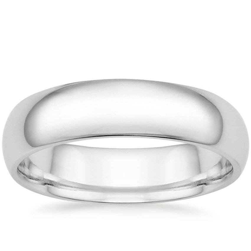 5.5mm Comfort Fit Wedding Ring