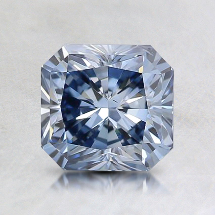 1.30 Ct. Lab Created Fancy Intense Blue Radiant Diamond