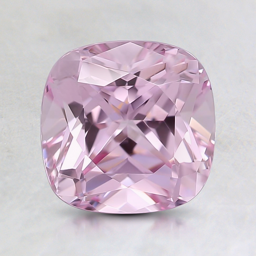 7mm Pink Cushion Lab Created Sapphire