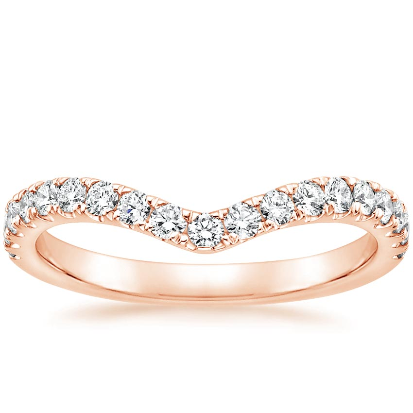 Rose Gold Luxe Flair Diamond Ring (1/3 ct. tw.)