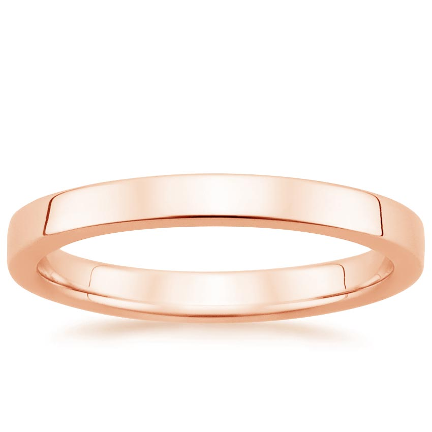 Rose Gold 2.5mm Quattro Wedding Ring