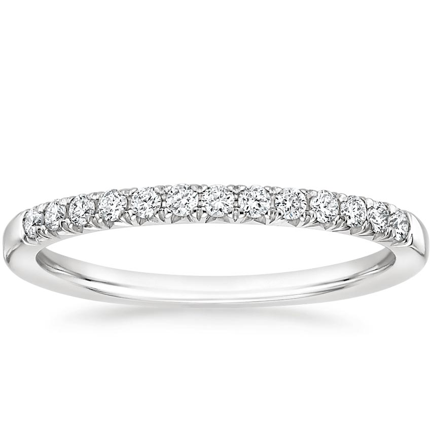 Adela Diamond Ring in Platinum