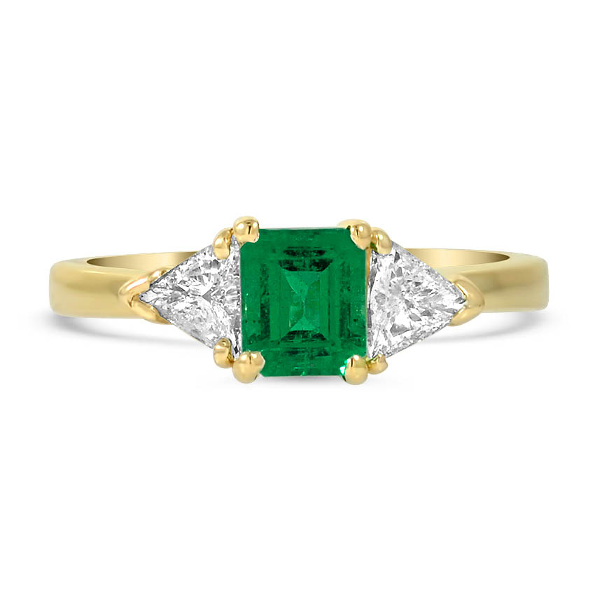 Retro Emerald Vintage Ring