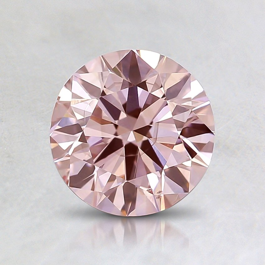 1.03 Ct. Fancy Pink Round Lab Created Diamond