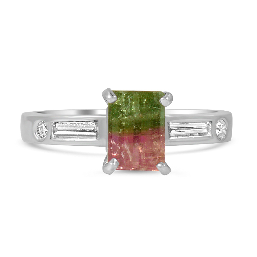 Retro Tourmaline Vintage Ring