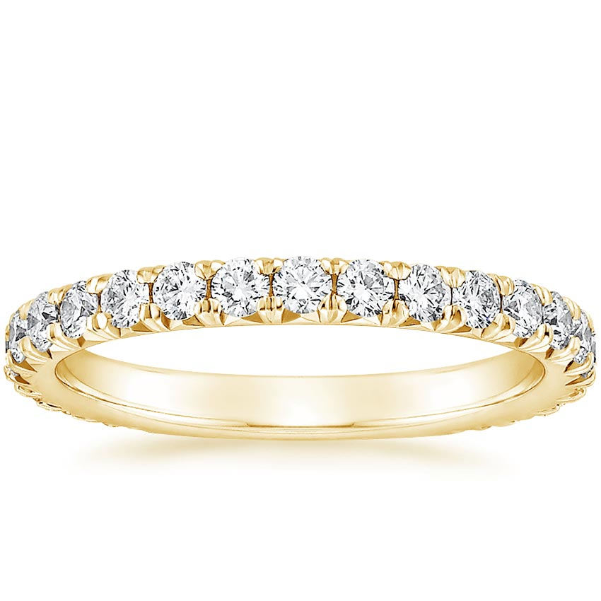 Yellow Gold Luxe Sienna Diamond Ring (5/8 ct. tw.)