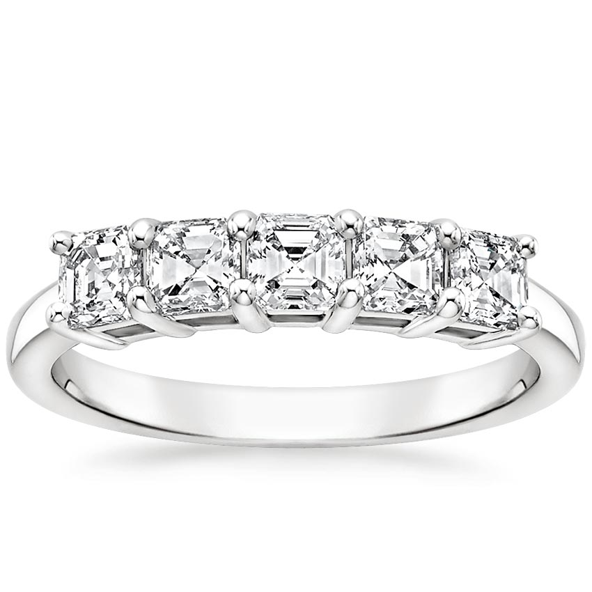 Asscher Five Stone Diamond Ring (1 ct. tw.)