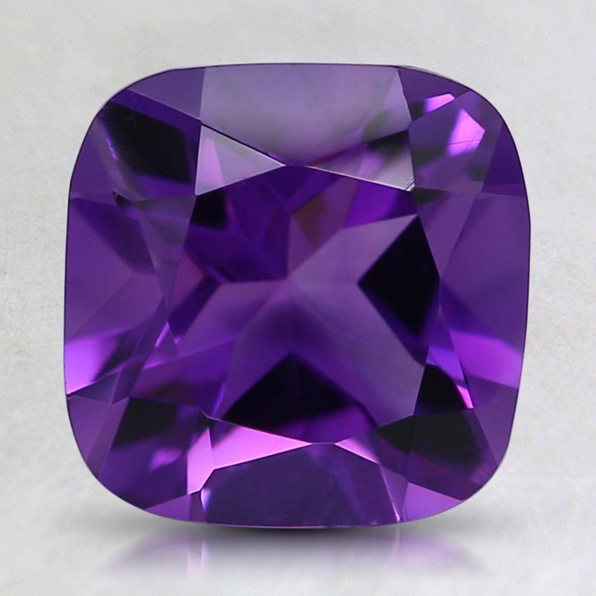 8mm Fine Cushion Amethyst