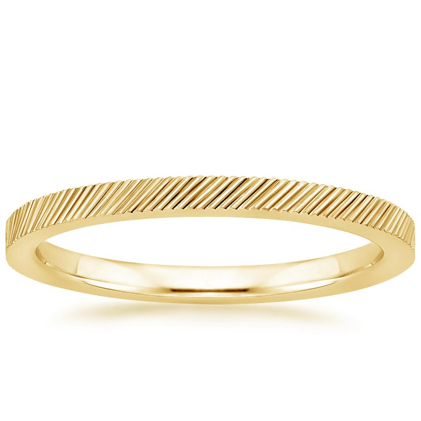 Yellow Gold Sutton Wedding Ring