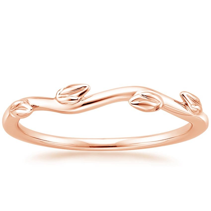 Rose Gold Winding Willow Ring