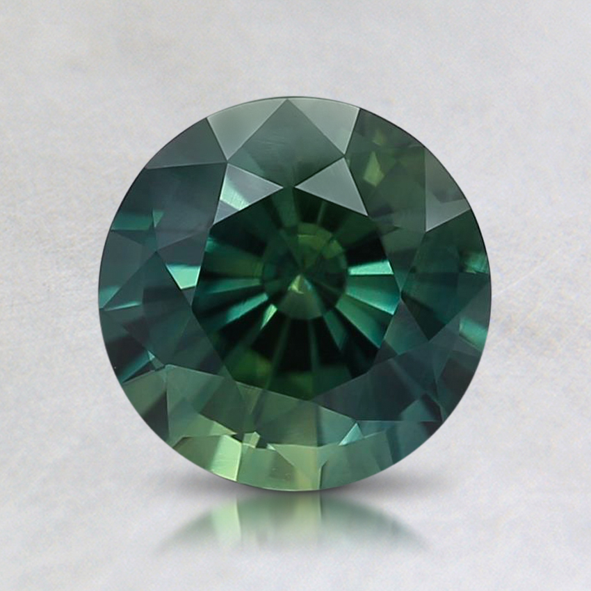 6.8mm Teal Round Sapphire