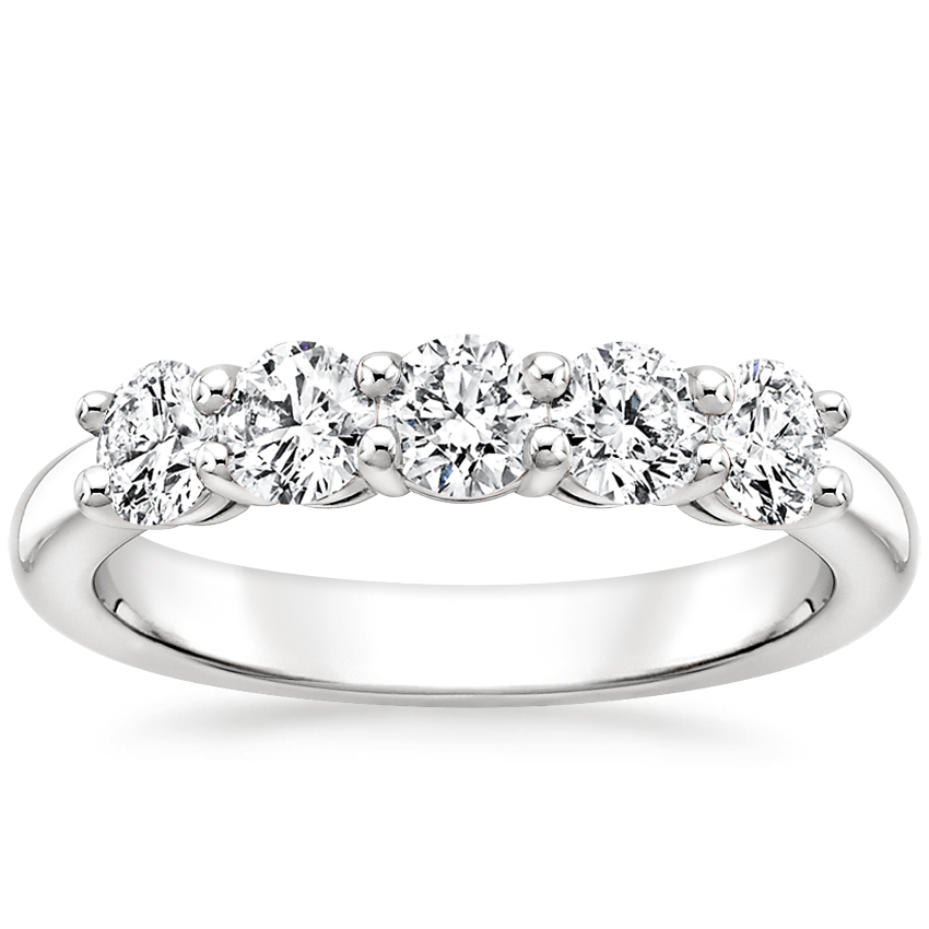 Round Five Stone Diamond Ring (1 ct. wt.)