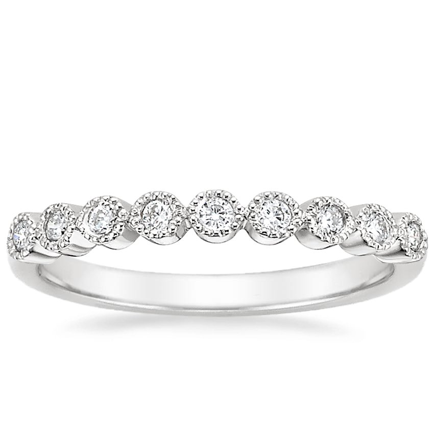 Solstice Diamond Ring (1/8 ct. tw.) in 18K White Gold