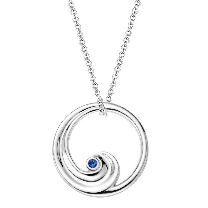 Top Twenty Gifts - SILVER WAVE PENDANT