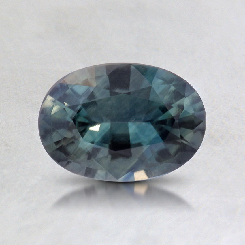 7x5mm Teal Oval Sapphire