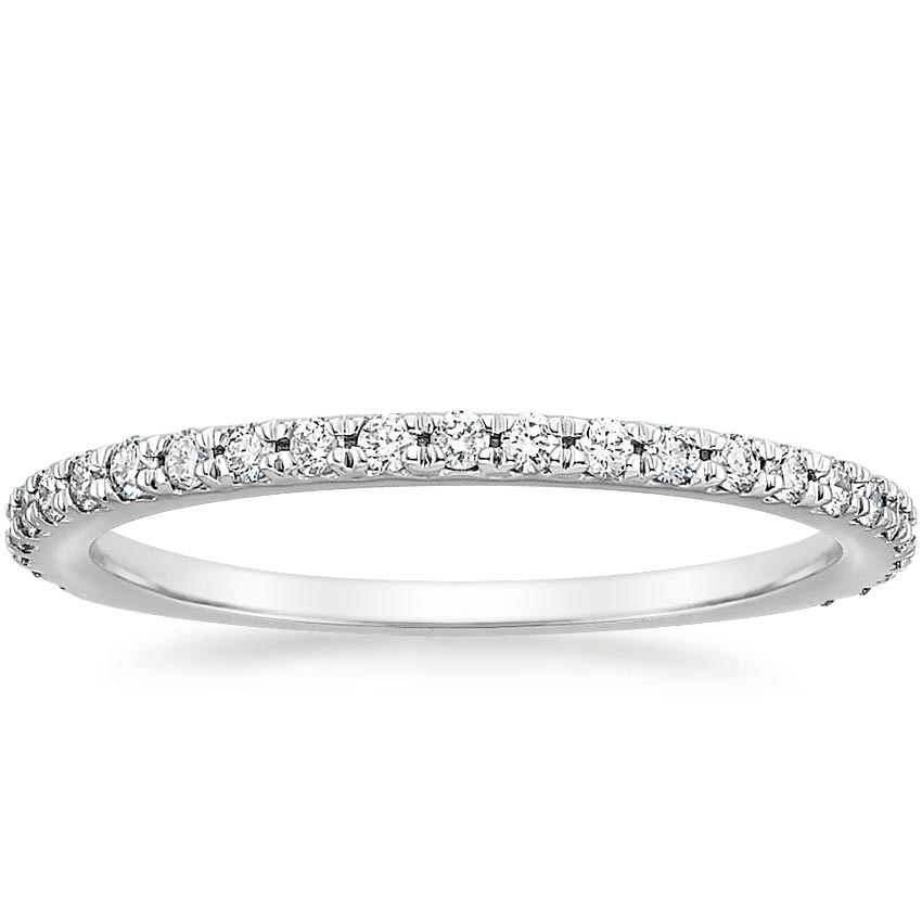 Luxe French Pavé Wedding Ring